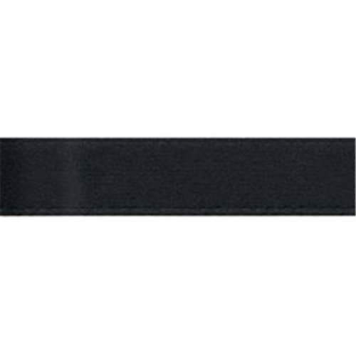 Offray 1017 7-8-30 Single Face Satin Ribbon 7-8 in. Wide 18 Feet-Black