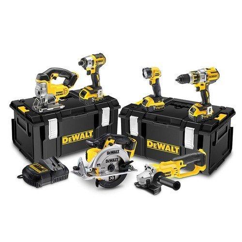 DeWalt DCK694P3 Brushless 3 Speed 6 Piece Kit 18 Volt 3 x 5.0Ah Li-Ion