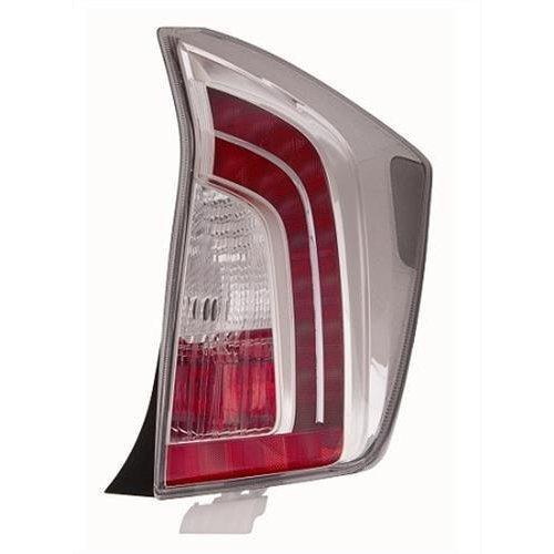 Toyota Prius Hatchback 2012-2016 Rear Lamp (Not Plug-In Models) Driver Side R