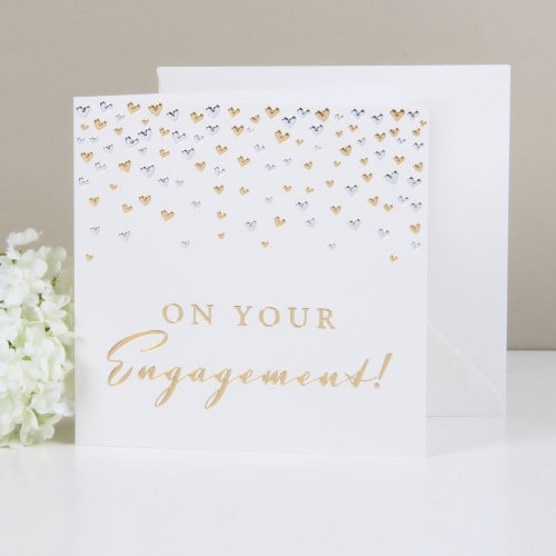 Amore Deluxe Card - On Your Engagement