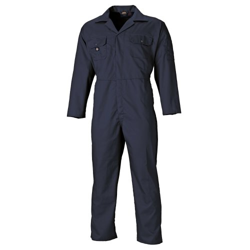 Dickies Redhawk Coveralls Navy (Various Sizes) Men's Boiler Suit Coverall