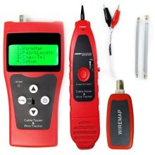 Digital Network LAN Telephone Coaxial BNC USB Cable Tracker Tester