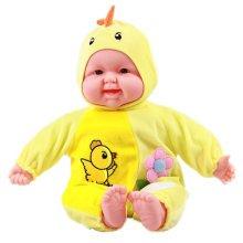 Lifelike Realistic Baby Doll/ Zodiac Doll/Soft Body Play Doll,Chicken Baby Doll