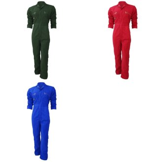 Dickies Redhawk Zip Front Coverall Tall / Mens Workwear (Pack of 2)