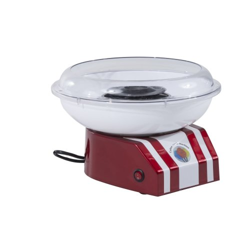 Homcom Cotton Candy Machine Gadgetry Electric Making Candy Floss Sugar Maker Red