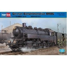 Hbb82914 - Hobbyboss 1:72 - German Dampflokomotive Br86
