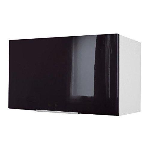 Berlenus CH6HN Kitchen Unit With Hood 60cm High-Gloss Black