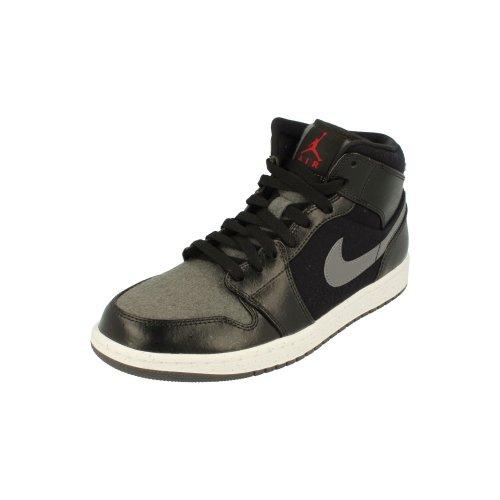 Nike Air Jordan 1 Mid Prem Mens Hi Top Basketball Trainers 852542 Sneakers Shoes