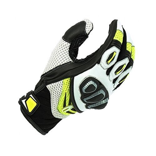 Richa Turbo Yellow Summer Motorcycle Gloves