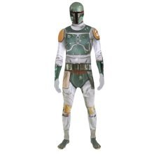 Star Wars Boba Fett Adult Unisex Zapper Cosplay Costume Digital Morphsuit - Large - Multi-Colour (MLZBFL-L)