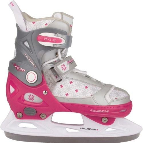 Nijdam Girl Kids Ice Figure Skates Boots with Blades Size 37-40 3121-FZW-37-40