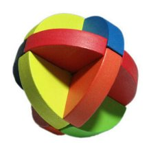 2 PCS Challenging Wood Brain Teaser Puzzle Disentanglement Puzzles, Style 3