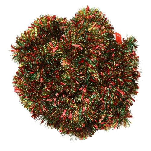Christmas Tinsel Garland.Veylin 10 Meter Christmas Chunky Tinsel Mixed Colors Xmas Tinsel Garland For Christmas Tree Decoration