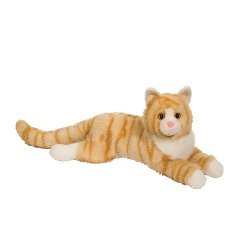 Cuddle Toys 285 48 cm Long Oriole Orange Cat Plush Toy