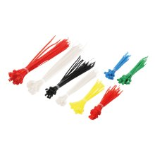 LogiLink KAB0018 Nylon Black,Blue,Green,Red,Yellow cable tie