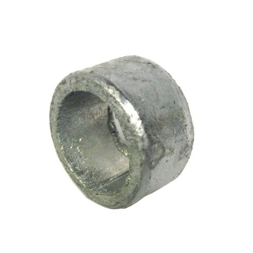 Non threaded spacer / washer 27 mm ID 21 mm length - Galvanised Mild Steel