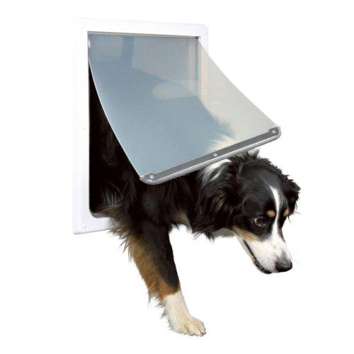 TRIXIE 2 Way Dog Flap Size M-XL 39x45 cm White 3879