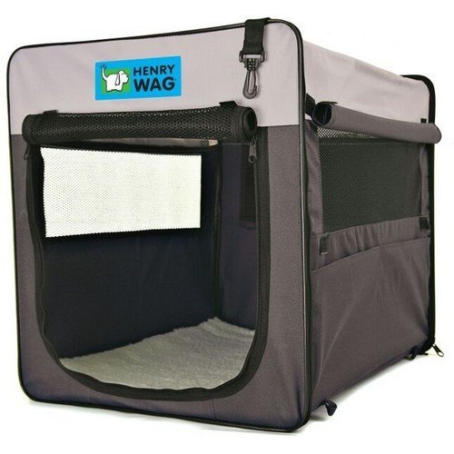 Henry Wag Canvas Pet Crate