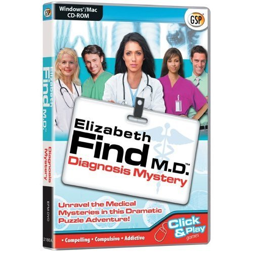 Elizabeth Find M.D. Diagnosis Mystery (PC CD/Mac)