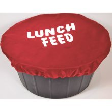 Spartan Printed Bucket Cover Lunch Feed: Red