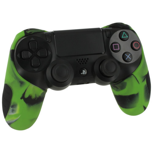 ZedLabz Camo Green SG-1 Silicone Sony PS4 Controller Cover | Camo Green PS4 Controller Grip