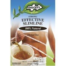 Dalgety Strong Effective Slimline 100% Natural Herbal Tea [20 TeaBags]