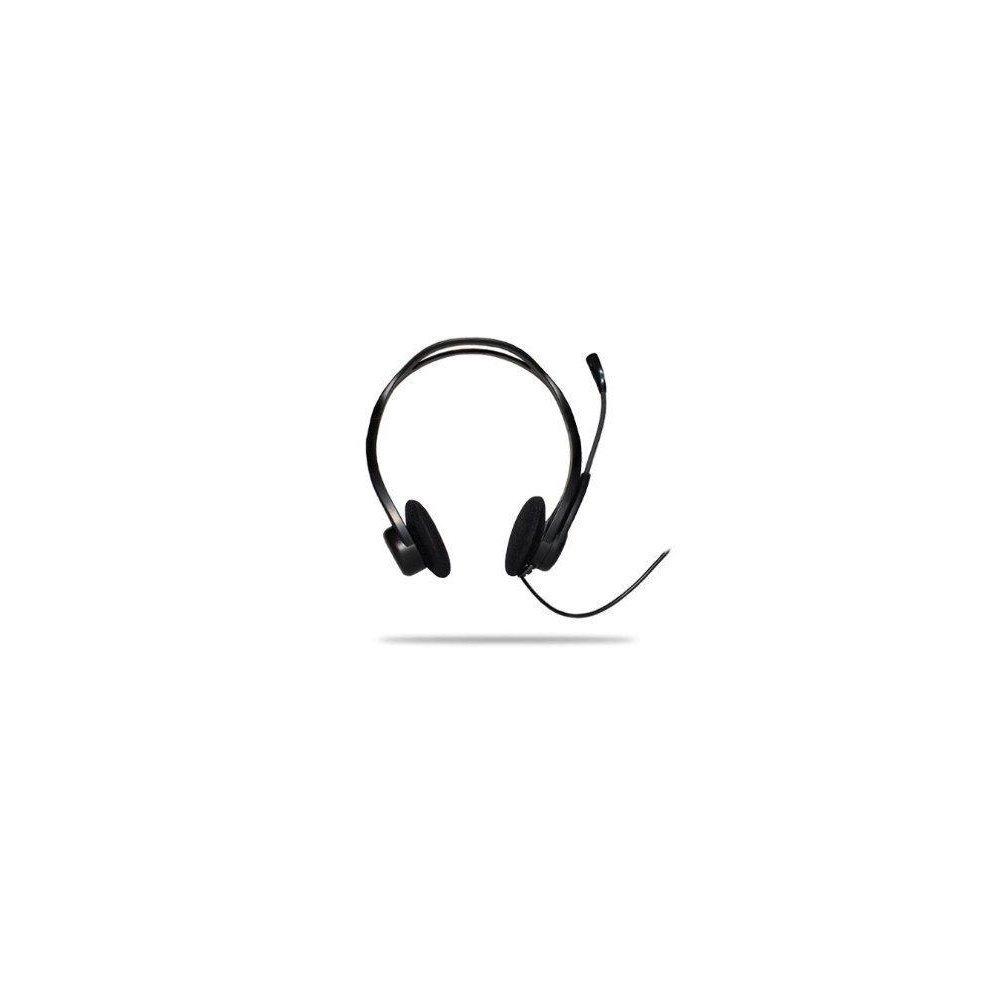 Logitech Oem Pc 960 Usb Over The Head Design Stereo Headset Black Earphone Asus