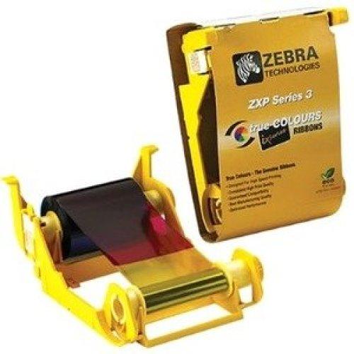 Zebra True Colours 800033-840 Ribbon Cartridge Ymcko Dye Sublimation Therma 800033-840