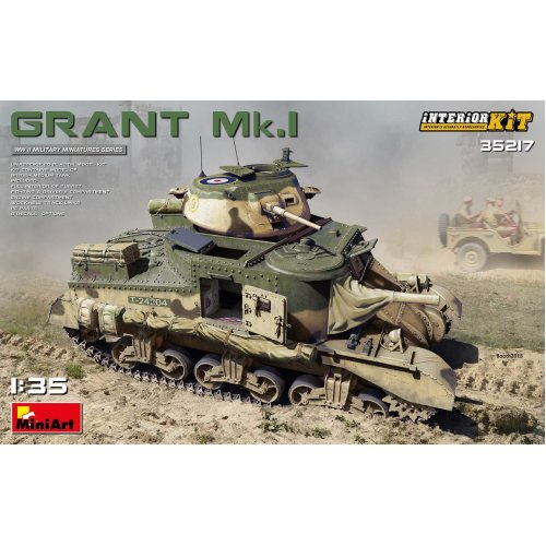 MIN35217 - Miniart 1:35 - Grant Mk. Interior Kit