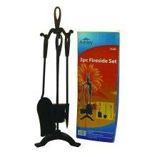 Blackspur 4 Piece Black Fireside Companion Fire Set