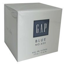 Gap Blue No. 655 Eau de Toilette for Her .5 oz (15ml)