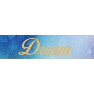 Little B Decorative Foil Tape 25Mmx10m-Gold Love, Dream, Hope