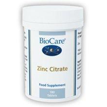 Biocare Zinc Citrate  50mg 90 Tablets