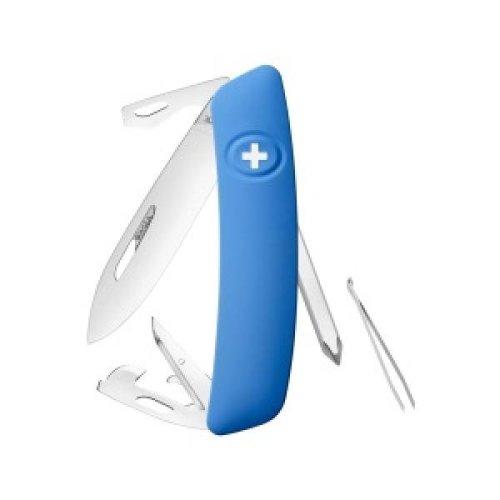Swiza D04 Swiss Pocket Knife Multi-Tool  - Blue