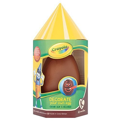 Crayola Decorate your own egg - Chocolate Easter Egg