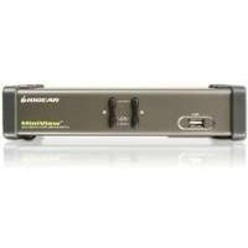 IOGEAR GCS1742 2 Port Dual View KVM Switch GCS1742