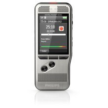 Philips DPM6000 Flash card Black,Silver dictaphone