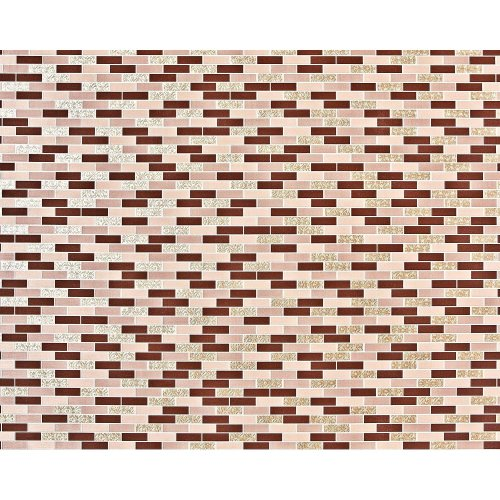 EDEM 991-35 non-woven mosaic wallpaper XXL brown beige gold metallic 10.65 m2