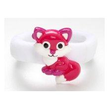 Sweet & Sassy Fox Hair Tie -  HAIR BAND TIES SWEET SASSY FOX ACCESSORY GIRLS CHILDREN'S