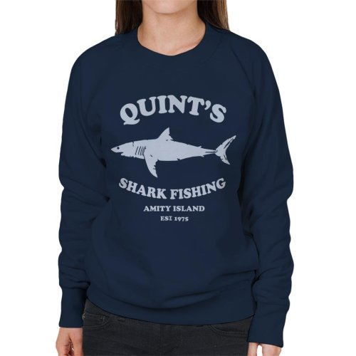 Quints Shark Fishing Amity Island Jaws Women's Sweatshirt