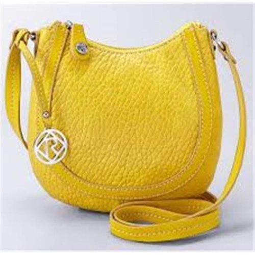 Art Fashions of Europe Y6031 YLW 14 x 6 x 13 in. Ronea UCCI Luxury Handbags, Yellow