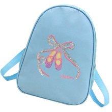 Kids Dance Bags Travel Backpack School Bags Girls Backpacks Side Bags Blue