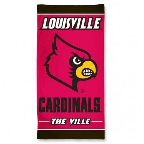 Louisville Cardinals Beach Towel
