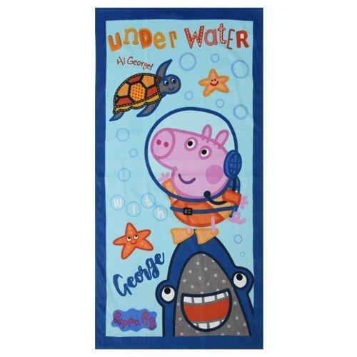 Peppa Pig George Pig 'Under Water' Beach Towel