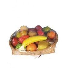 Artificial Mini Mixed Fruit - 18 Pieces of various fruit