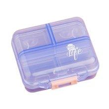 Portable 7 Day Pill Reminder Medicine Storage Pill Case Box     B