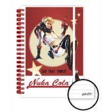 Fallout 4 Nuka Cola A5 Notebook