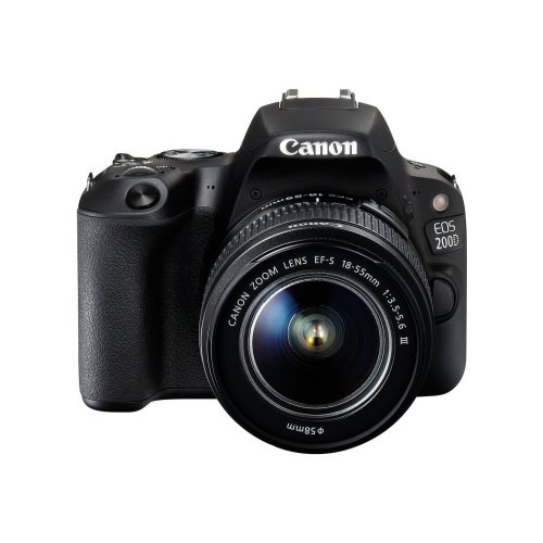 Canon EOS 200D Camera & EF-S 18-55mm f/3.5-5.6 III Lens Kit
