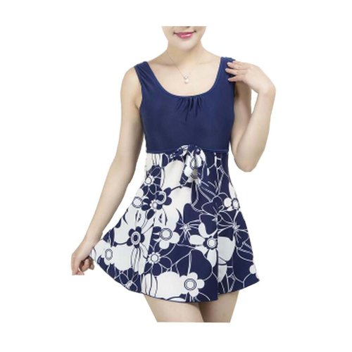 One-piece Middle-aged Mother Swimsuit/Hot Springs Swimming Apparel