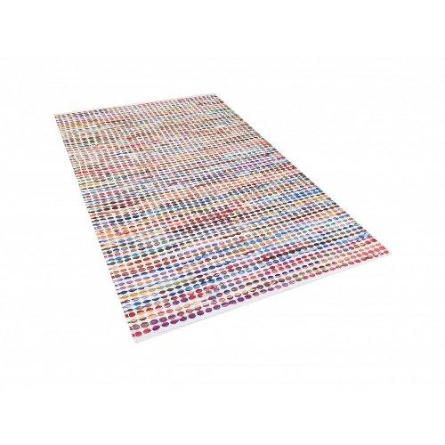 Carpet - Rug - Multicolour - Cotton - Polyester - 80x150 cm - BELEN